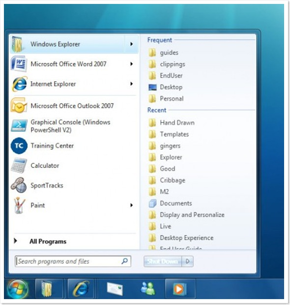 R volution en image microsoft windows 7 ninfosman - Open office en francais pour windows 7 ...