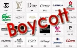 Boycott des produits français en Chine